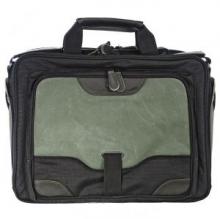 сумка через плечо QUER Q28 зеленая кожа+текстиль 883600-182