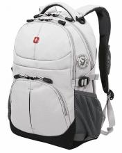 Рюкзак Wenger, серый, полиэстер, 33х15х45 см, 22 л 3001402408