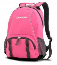 Рюкзак Wenger, розовый/серый, полиэстер 600D/добби, 32х14х45 см, 20 л 12908415