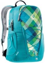 Рюкзак  Deuter GоGо сине-зеленая клетка 3820016-3216