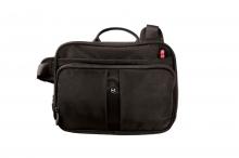 Сумка наплечная VICTORINOX Travel Companion с системой защиты RFID цвет черный 50618