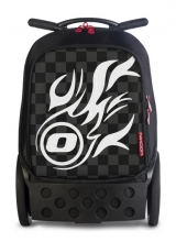Рюкзак на колесах Nikidom Roller White Fire 9019