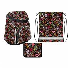 Ранец школьный MagTaller Boxi Flowers 21616-18