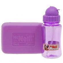 Комплект Mc Neil бутылка для напитков + Ланч бокс лиловый mccd