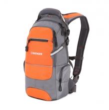 Рюкзак WENGER цвет серый/оранжевый/серебристый полиэстер 13024715-2
