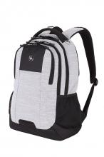 Рюкзак WENGER 18 цвет светло-серый ткань Grey Heather/М2 добби 5505402419