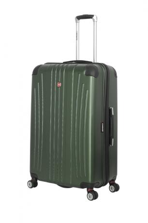 Чемодан WENGER Ridge цвет зеленый АБС-пластик 6171646175