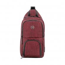 Рюкзак WENGER с одним плечевым ремнем цвет бордовый полиэстер 54704
