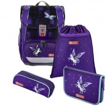 Ранец ортопедический Hama Step By Step Light 2 Unicorn-  Пегас  4 предмета 00138505