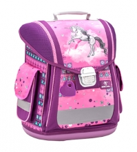 Ранец Belmil SPORTY PINKY UNICORN 404-5/872 без наполнения.