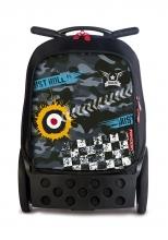 Рюкзак на колесах Nikidom Roller XL Camo 9324
