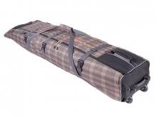 Чехол на колёсах для сноубордов и горных лыж Course 185-215 см коричневый гл053.215к