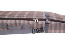 Чехол-рюкзак Course ФЬЮЖН для сноуборда 175 см коричневая оранжевая клетка сб024.175к