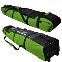 Чехол на колёсах для сноубордов и горных лыж Course 145-180 см гл053.180дз Дуэт зеленый