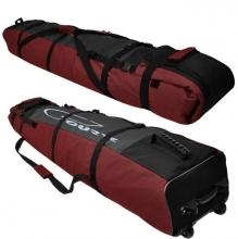 Чехол на колёсах для сноубордов и горных лыж Course 145-80 см гл053.180дк Дуэт красный.