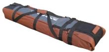 Чехол на колёсах для сноубордов и горных лыж Course 145-80 см гл053.180до Дуэт оранжевый.