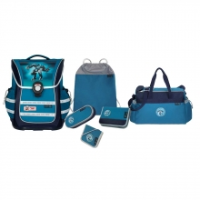 Школьный рюкзак McNeill ERGO Light PURE Motion-Line Steelman -Железный человек 6 предметов 9631203000.