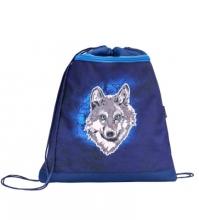 Мешок-рюкзак для обуви MOUNTAIN WOLF 336-91/875 с вентилируемой сеткой и объемным карманом на молнии.