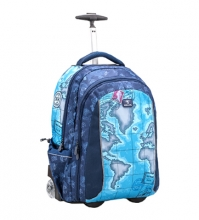 Рюкзак на колесах Belmil EASY GO WORLD MAP 338-45/10