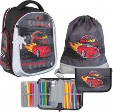 Рюкзак MagTaller Ünni Racing Red 41721-18 с наполнением 3 предмета.
